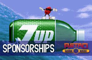Retro World Series Sponsorships