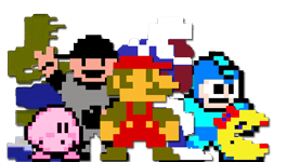 8 Bit Video Game Characters