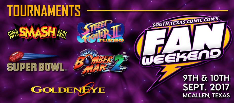 2017 South Texas Comic Con Fan Weekend