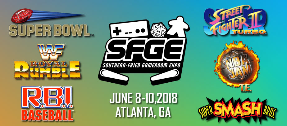 2018 southern fried gaming expo