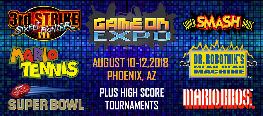 Game On Expo 2018 - Phoenix, AZ