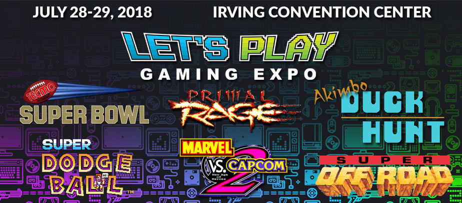 Let's Player Gaming Expo 2018