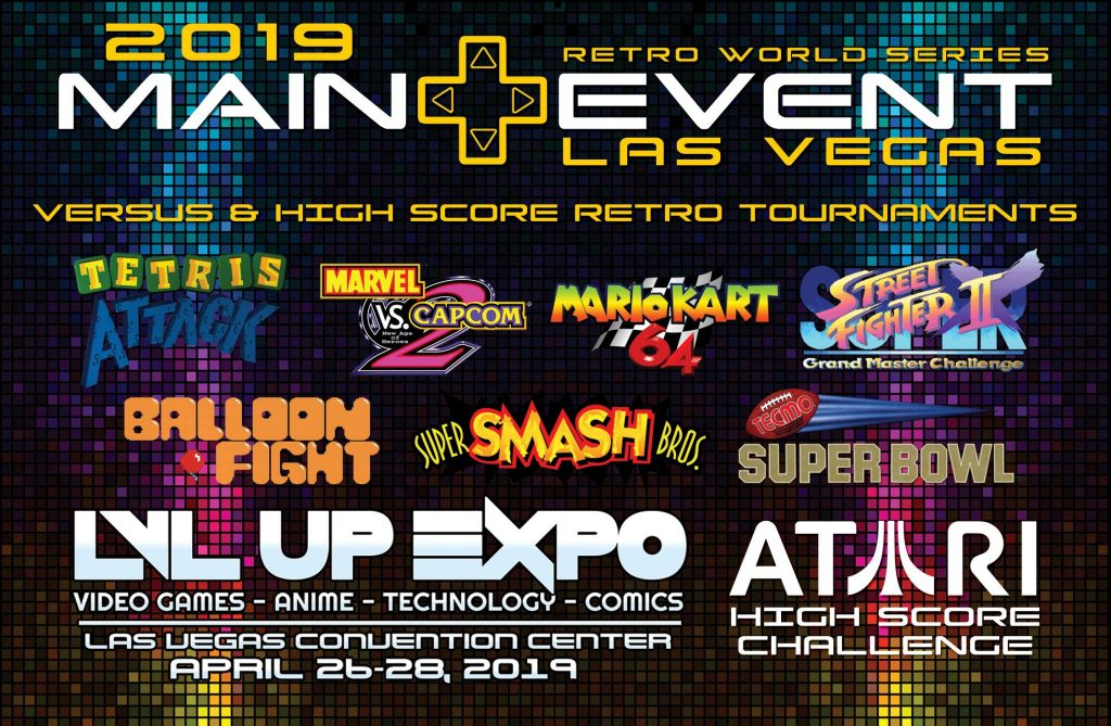 2019 Main Event at LVL Up Expo