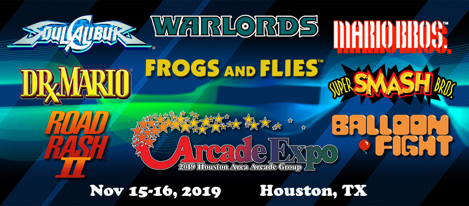 2019 Houston Arcade Expo