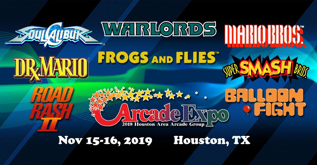 2019 Houston Arcade Expo