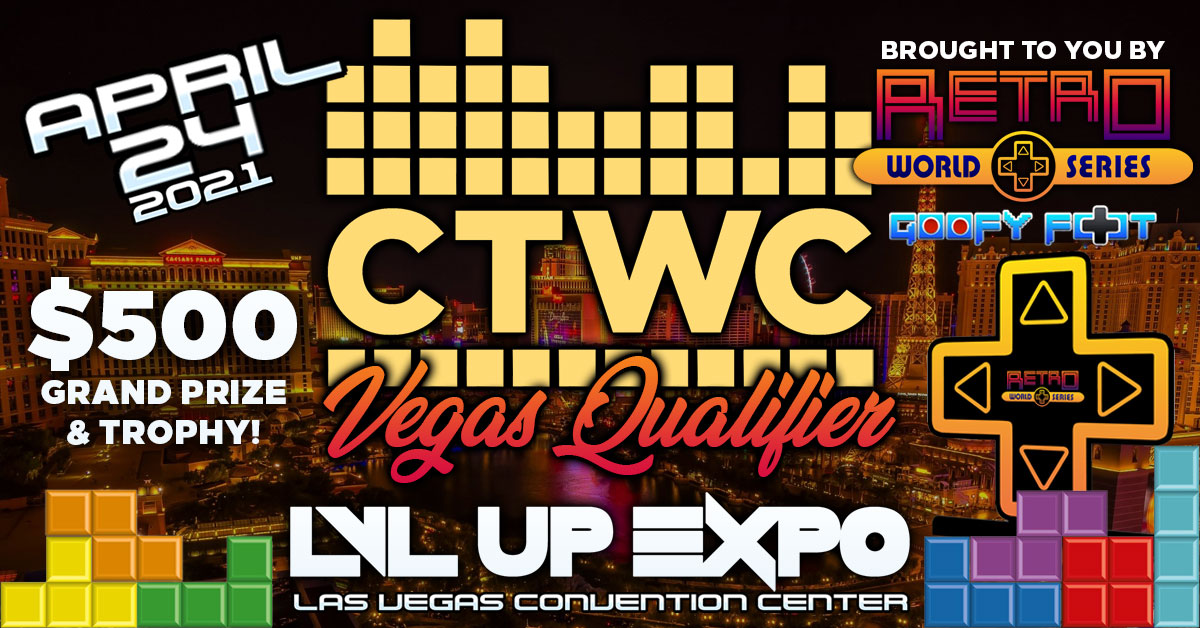 CTWC Tetris Retro World Series LVL Up Expo
